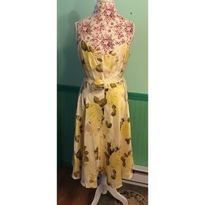 Banana Republic Floral Spring Dress 14
